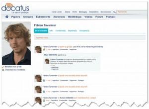 Docatus, le réseau social des professionnels de santé